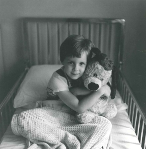 Boy with Stuffed Animal