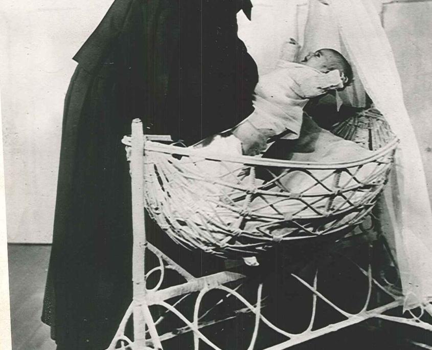 Nun and Baby