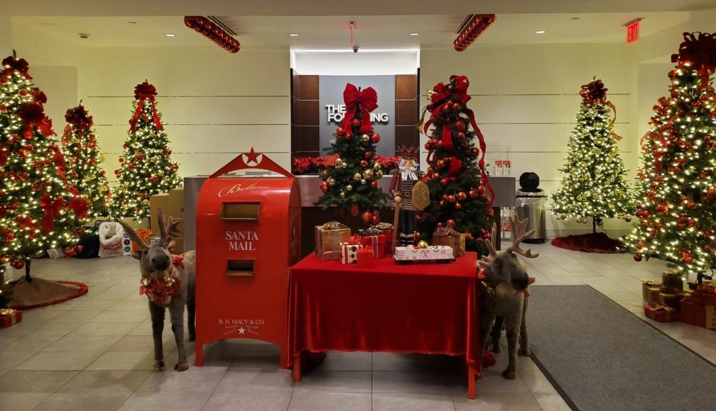 NYF Holiday Lobby