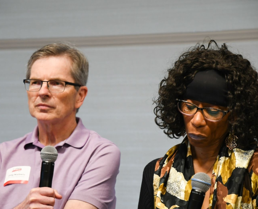 Greg Markway and Illona Dixon_Researching Your Roots Panel
